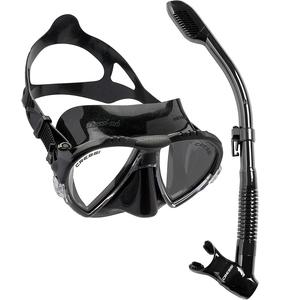 Kit de Mergulho Máscara+Respirador Cressi Matrix + Supernova Dry