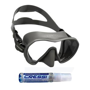 Máscara de Mergulho Cressi Z1 + Anti Fog Sea Gold