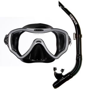 Kit de Mergulho Máscara+Respirador Cetus New Parma Pro