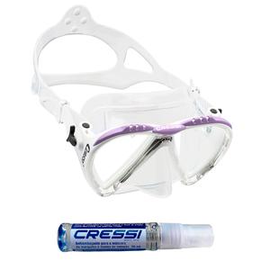 Máscara de Mergulho Cressi Lince + Anti Fog Sea Gold
