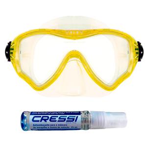 Máscara de Mergulho Cetus New Parma Pro + Anti Fog Sea Gold
