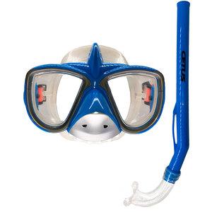 Kit de Mergulho Infantil Máscara+Respirador Cetus Tubarão