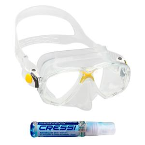 Máscara de Mergulho Cressi Marea + Anti Fog Sea Gold