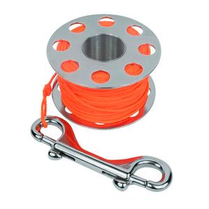 Carretilha de Inox para Mergulho Cetus Spool Steel Pro